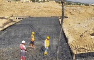 Selimiye-Yeşilyurt Köprüsü çalışmaları devam...