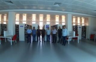 TYB Kahramanmaraş Şubesinden KSÜ kütüphanesine...