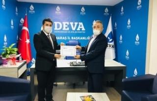Deva Partisi Dulkadiroğlu'na İlçe Başkanı...