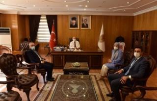 Deva Partisi'nden Kahramanmaraş Valisi Ömer Faruk...