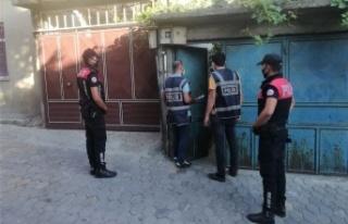 Kahramanmaraş'ta aranan 68 kişi yakalandı
