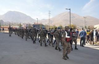Kahramanmaraş'ta PKK/KCK'dan gözaltına alınan...