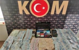 Kahramanmaraş'ta pos tefecisinin günlük hasılatı...