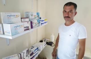 Kullanılmayan ilaçları ihtiyaç sahiplerine ulaştırıyor