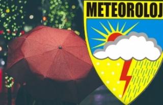 Meteoroloji'den 26 il için sarı 7 il için...