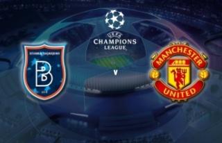 Başakşehir'in rakibi Manchester United