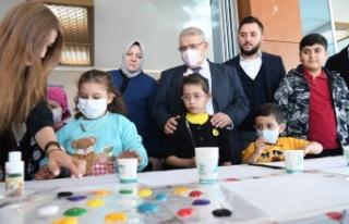 Başkan Mahçiçek, Lösemili Çocuklar Haftasını...