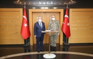 2. Ordu Komutanı Orgeneral Metin Gürak Valiliği...