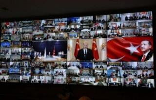 AK Parti Gençlik Kolları kongreleri Kahramanmaraş'tan...