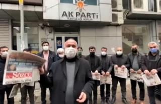 """AK Parti İlçe Başkanı Tıraş, """"Ayasofya 2020..."""