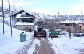 Dulkadiroğlu'nda Karla Mücadele Çalışmaları...