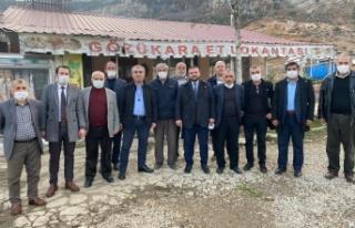 İYİ Parti Kahramanmaraş İl Başkanı Ahmet Çabukel...