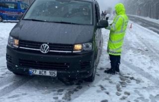 Jandarma'dan trafik kontrolü