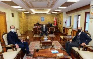 Kahramanmaraş Milletvekilleri Ahmet Özdemir ve Mehmet...