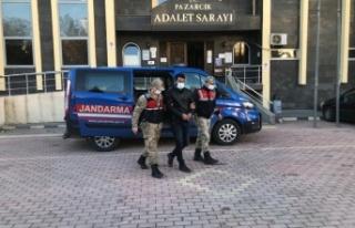 Kahramanmaraş'ta gurbetçilerin evini soyan hırsız...
