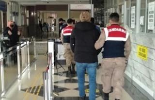 Gaspa uğrayan Suriyeli kaçak çıktı