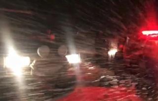 Kahramanmaraş-Kayseri yolu büyük araçların geçişine...