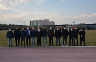 Kahramanmaraşspor, Haftalık Antrenmanını KSÜ...