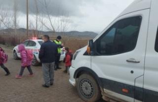 Kahramanmaraş'ta okul servisleri denetlendi