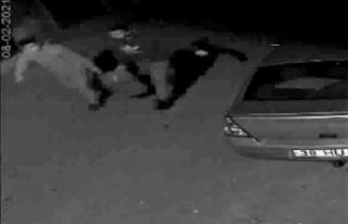 Mazot hırsızını delik bidon yakalattı