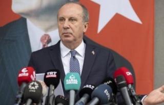 Muharrem İnce: Bugün CHP'den istifa edeceğim