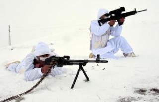Yılın ilk ayında 112 terörist etkisiz hale getirildi
