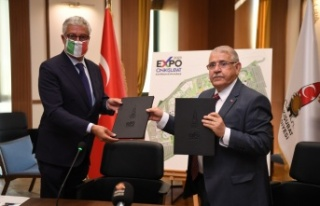 Başkan Mahçiçek EXPO 2023 İçin İtalya ile Anlaşma...