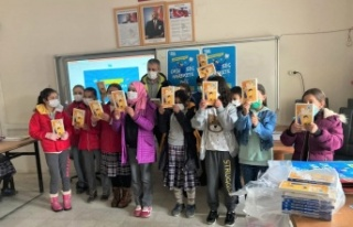 Kahramanmaraşlı öğrencilere kitap desteği