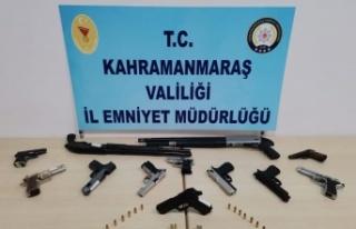 Kahramanmaraş'ta 17 maganda yakalandı