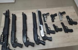 Kahramanmaraş'ta 1 ayda 62 silah ele geçirildi