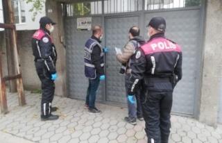 Kahramanmaraş'ta aranan 78 kişi yakalandı