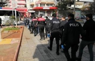 Kahramanmaraş'ta bir ayda aranan 346 kişi gözaltına...