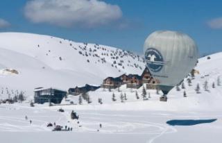 Kahramanmaraş'ta sıcak hava balonuyla ilk uçuş...