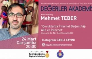 Mehmet Teber ile Çocuklarda İnternet Bağımlılığı