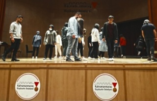 Sahne Maraş'ta Tiyatro Eğitimleri Başladı