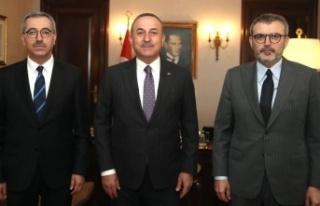 UNESCO Süreci Bakan Çavuşoğlu'na Anlatıldı
