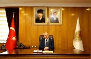 """Vali Ömer Faruk Coşkun'un """"14 Mart Tıp Bayramı""""..."""