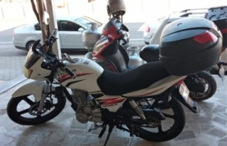 Yeni aldığı motosikletini ilk taksitini ödeyemeden...