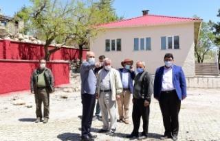 Başkan Okay Hacıeyüplü Sosyal Tesisini İnceledi