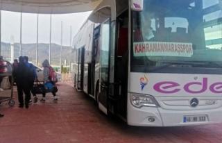 Büyükşehir'den Kahramanmaraşspor'a Ulaşım...