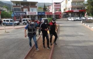 Kahramanmaraş'ta kablo hırsızları tutuklandı