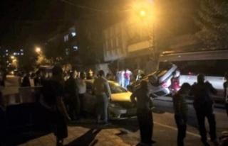 Kahramanmaraş'ta otomobil takla attı: 2 yaralı