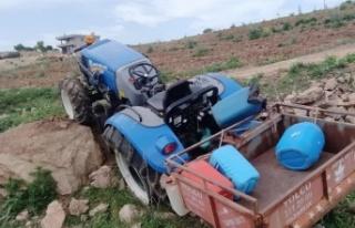 Kahramanmaraş'ta traktörün altında kalan yaşlı...