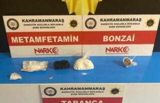 Kahramanmaraş'ta uyuşturucu satıcısı 3 kişi...