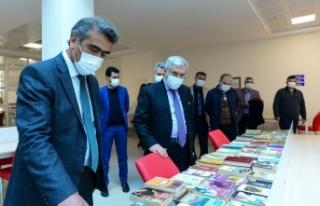 KSÜ Kütüphane Haftasını Kutladı