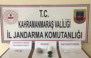 Pazarcık'ta uyuşturucudan 2 kişi gözaltına...