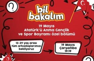 """Bil Bakalım'da """"Geçlik Haftası Özel Programı""""..."""