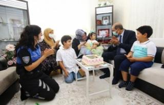 Emniyet Müdürü Cebeloğlu'ndan Şehit Ailelerine...
