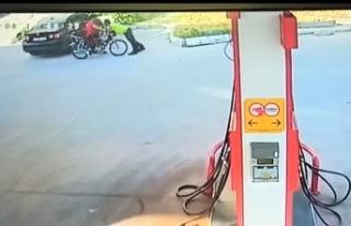Hatay'da Dur İhtarına Uymayan Motosiklet Sürücüsü...