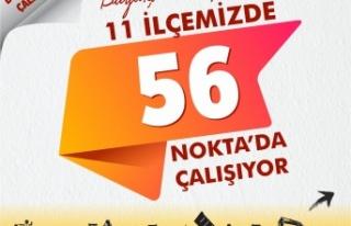 Kahramanmaraş Büyükşehir Belediyesi çalışma...